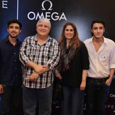 Khalid Mir, Tehmina Khalid & kids
